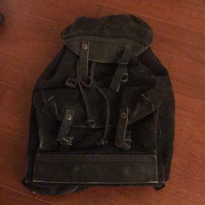 Porter yoshida leather canvas  rucksack